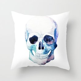 Skull 07 Throw Pillow
