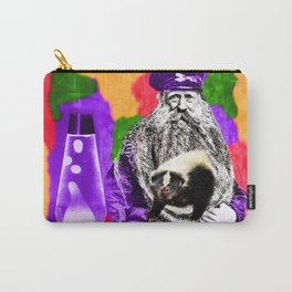 Man Beard Skunk Lava Lamp Carry-All Pouch