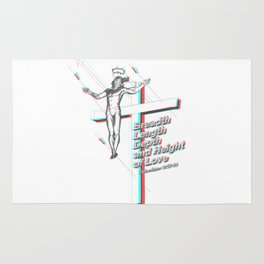 Salvation in 3D Rug
