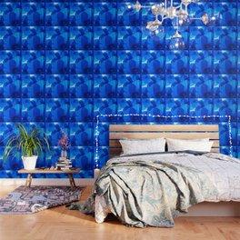 Blue Poppies #decor #society6 #buyart Wallpaper