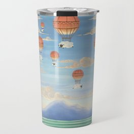 Flying Sheeps Travel Mug