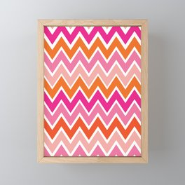 Retro Rainbow Framed Mini Art Print