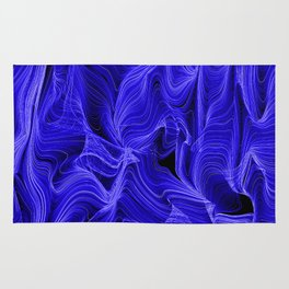 Midnight Blue Mist Rug
