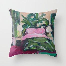 Golden Girls, Blanche's Boudoir Throw Pillow