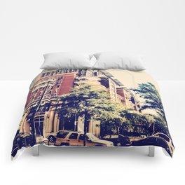 Downtown Charlotte, NC Comforters