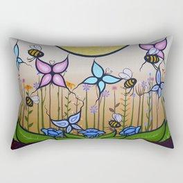 Kokum's Garden Rectangular Pillow