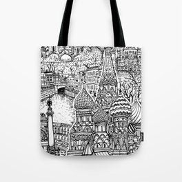 To Russia, With Love Tote Bag