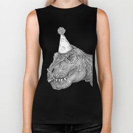 Party Dinosaur Biker Tank