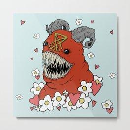 Lovey Devil Metal Print