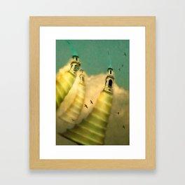 Honing Framed Art Print