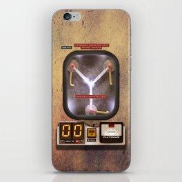 FLUX CAPACITOR iPhone Skin