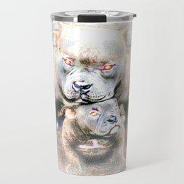 Pit Bull Models: Blue Defender 01-02 Travel Mug