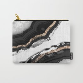 Agate Glitter Glam #2 #gem #decor #art #society6 Carry-All Pouch