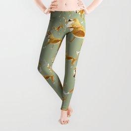 Ginger dingo pattern Leggings