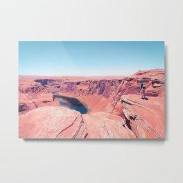 Desert at Horseshoe Bend, Arizona, USA Metal Print