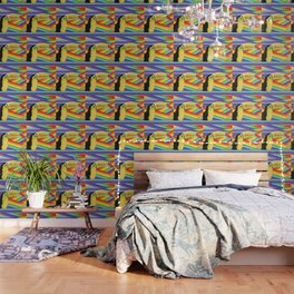 Toucan Rainbows Wallpaper