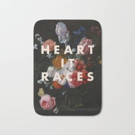 HEART IT RACES Bath Mat