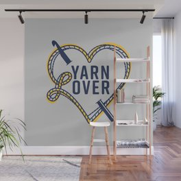 Yarn L(over) Wall Mural