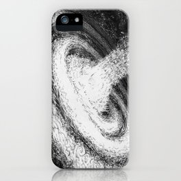 Galaxy Particles Infinite iPhone Case