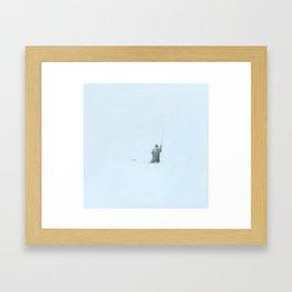 Flyfishing: Solitude Framed Art Print