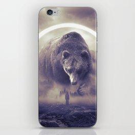 aegis II   bear iPhone Skin