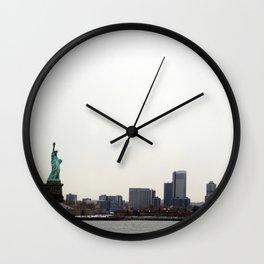 New York....... New York Wall Clock