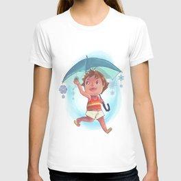 Snow Umbrella T-shirt