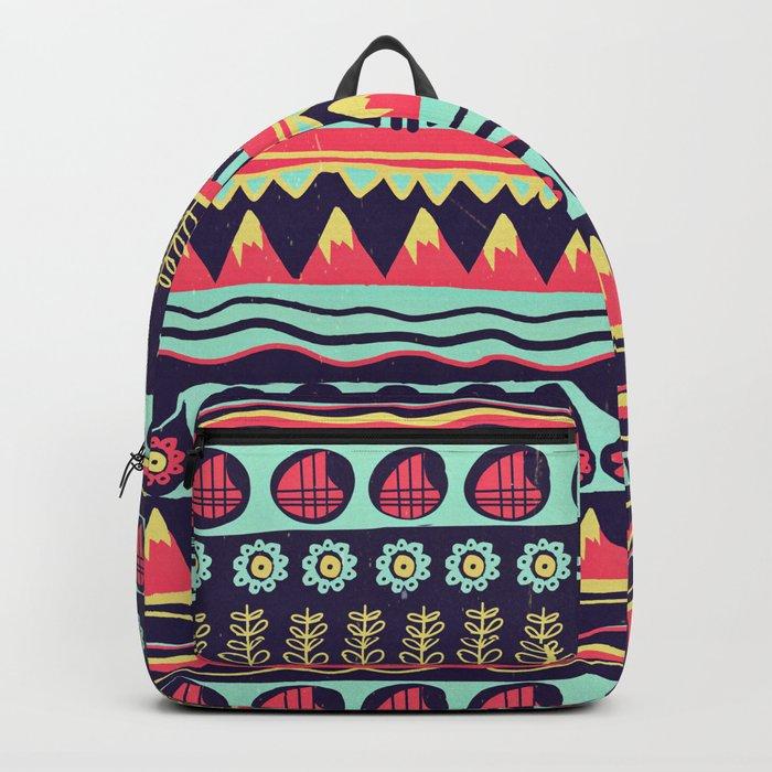 Scandinavian pattern Backpack
