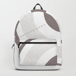 whale circles Backpack
