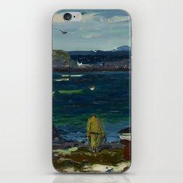 The Harbor, Monhegan Coast, Maine, 1913 iPhone Skin