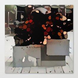 Bear Monument Canvas Print