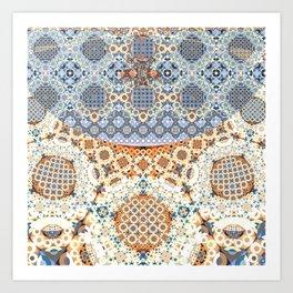 Modern Fractal Abstract 11: Detailism (n) Art Print