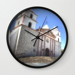 Santa Barbara Mission Wall Clock