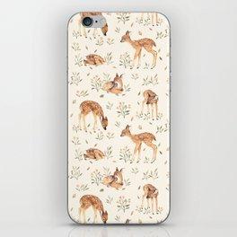 Wildflower Fawn iPhone Skin
