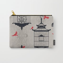 Kiss Empty Brid Cages Carry-All Pouch