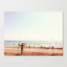 Hot Surf Canvas Print