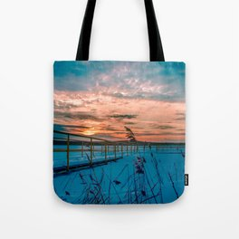 Waiting for the Summer Tote Bag