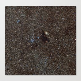 Star Cluster in the Milky Way Canvas Print