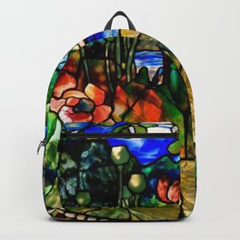 Louis Comfort Tiffany - Decorative stained glass 19. Backpack
