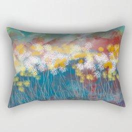 Beaming Down Rectangular Pillow