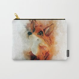 Cute Fox Carry-All Pouch