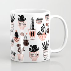 Mid-Century Modern Cacti  Mug
