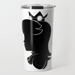 Princess Peach - Silhouette Travel Mug
