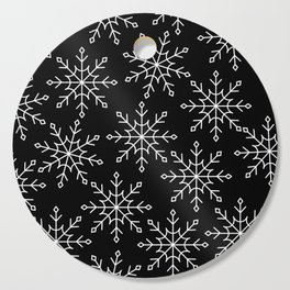 Give Me a Black & White Christmas - 3 Cutting Board
