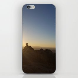 On Top of Camelback iPhone Skin