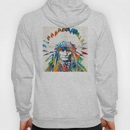 Native American Art - Chief - By Sharon Cummings Hoody