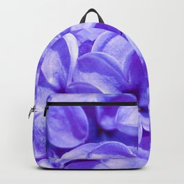 Blue Lilacs by Teresa Thompson Backpack
