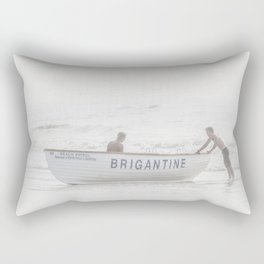 Brigantine Lifeboat Rectangular Pillow