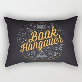 Book hangover Rectangular Pillow