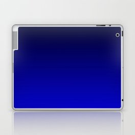 Black and Cobalt Gradient Laptop & iPad Skin